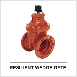 AWWA C515 AWWA C509 Resilient wedge gate valve AWWA Gate valves