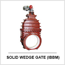 IBBM Solid Wedge AWWA Gate Valves C500