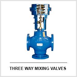 3 WAY MIXING VALVES